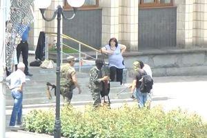 В Артемовске боевики унесли документацию из окружкома