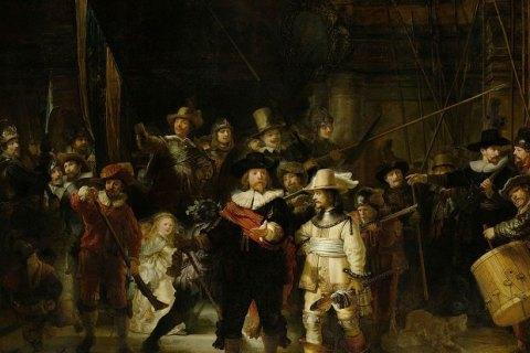У Нідерландах шкільний вчитель провів ніч під картиною Рембрандта в музеї