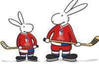 Кролики стали талисманами хоккейного ЧМ-2015