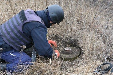 Возле Петровского и Богдановки обезвредили 19 мин, - ГосЧС