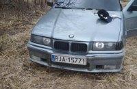 В Вольногорске водитель на евробляхах бросил гранату в полицейских