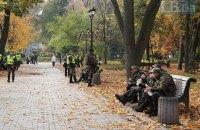 В субботу в Киеве будет до +4 градусов, без осадков