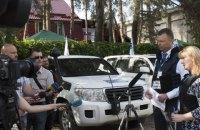 ОБСЕ открыла патрульную базу в Счастье