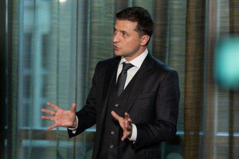 Зеленський: війська з Донбасу може вивести тільки Росія
