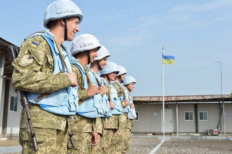 Украинские миротворцы в Либерии