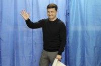 Зеленський проголосував на виборчій дільниці на Оболоні