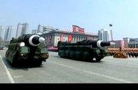 КНДР показала баллистические ракеты подводных лодок