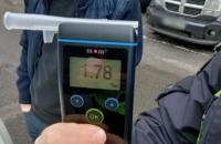 У Києві за ніч виявили 30 водіїв напідпитку