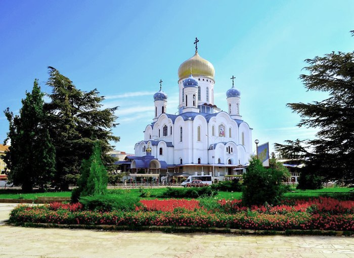 Храма Христа Спасителя в Ужгороде