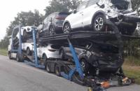 На Житомирщині зіткнулися автобус та автовіз, загинув чоловік