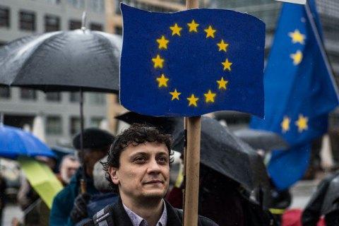 В Германии прошли массовые акции за единую Европу