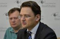 МИД: пока на Донбассе не все хорошо, Украина будет продвигать идею миротворцев