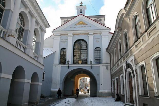 Остра Брама у Вільнюсі