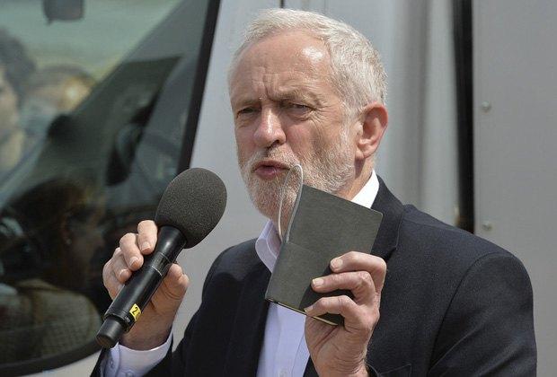 глава Лейбористской партии Джереми Корбин
