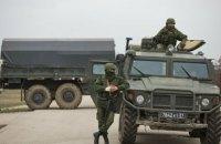 Россия перемещает военную технику к Симферополю, - СМИ