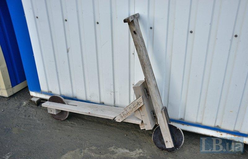 Транспорт для перемещения по бетонному заводу