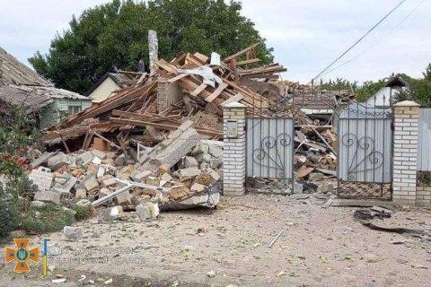 Під Бердянськом при спробі самогубства чоловік підірвав двоповерховий будинок і вижив