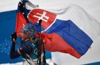 Словачка Кузьмина выиграла «золото» Олимпиады в биатлонном масс-старте