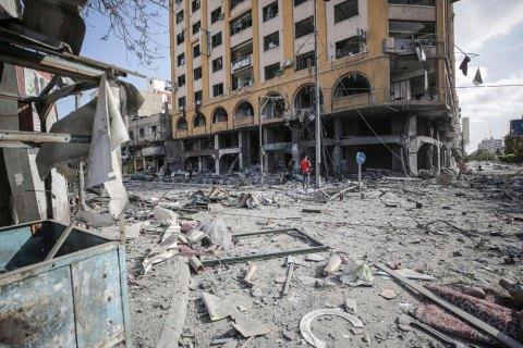 Израиль заявил об уничтожении 15 км тоннелей боевиков и 9 домов лидеров ХАМАС