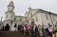 В Почаеве молятся за Украину