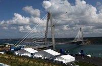 У Туреччині відкривають третій підвісний міст через Босфор