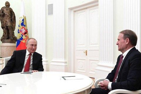 Рада отмежевалась от московских встреч Медведчука и Рабиновича