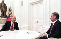 Рада відмежувалася від московських зустрічей Медведчука і Рабіновича