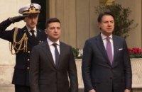 В Риме началась встреча Зеленского и премьера Италии Конте