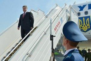 Порошенко отправился во Львов
