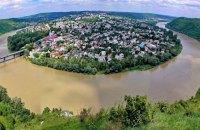 Місто-півострів Заліщики