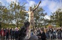 Ібрагімовичу встановили пам'ятник у Швеції