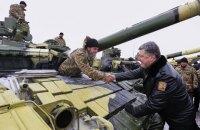 Порошенко 23 августа передаст в Чугуеве боевую технику для фронта