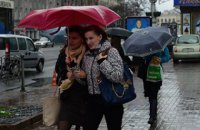 Завтра в Киеве дождь, до +8