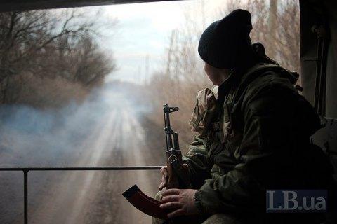 Один военнослужащий получил ранение на Донбассе вблизи Светлодарска