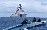 Берегова охорона США затримала субмарину із 7 тоннами кокаїну