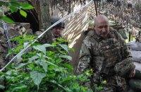 Турчинов посетил позиции ВСУ возле Горловки
