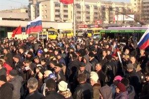 МВД: завтра в Донецке на митинге радикалы могут применить оружие