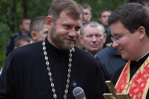Михайло Заверчук (зліва)