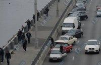 В Киеве закроют движение транспорта по Набережному шоссе