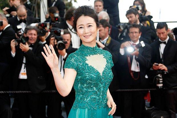Китайская актриса Чжао Тао
