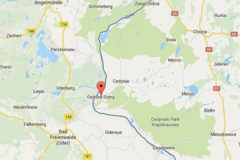 На польско-германской границе произошел взрыв, есть пострадавшие