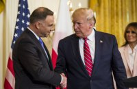 Трамп анонсував безвіз для поляків