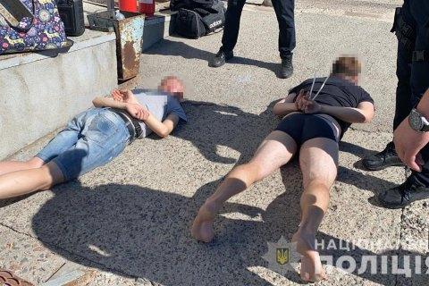 На Николаевщине полиция задержала 30 вооруженных человек при попытке рейдерского захвата