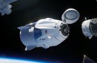 Американський космічний корабель компанії Маска повернувся на Землю з чотирма астронавтами