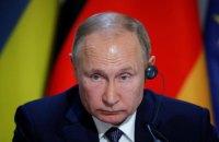 Путін заявив про загрозу різанини на Донбасі після повернення Україною контролю над кордоном