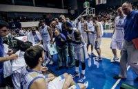 Сборная Украины выиграла первый матч на Евробаскете у бельгийцев