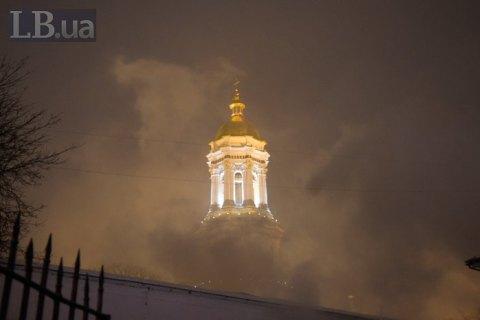 Полиция задержала подозреваемого в поджоге здания на территории Лавры (обновлено)