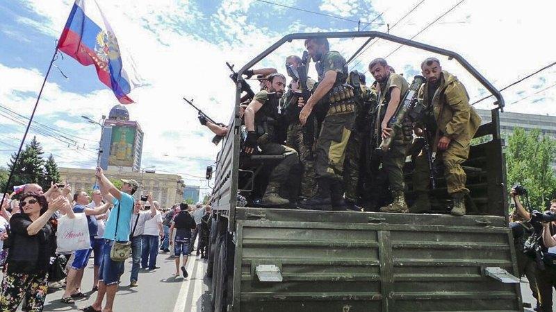 Батальйон 'Восток', Донецьк, 2014