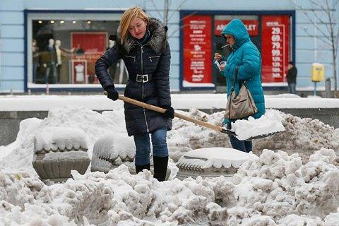 Завтра в Києві очікується невеликий сніг, до -9 градусів