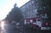 В Харькове из-за пожара в пятиэтажке ночью эвакуировали более 100 человек